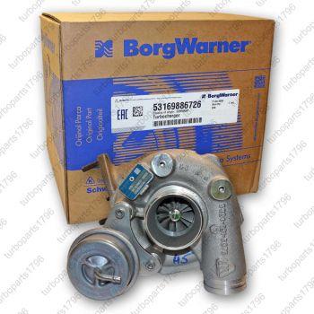 porsche turbolader 53169706726