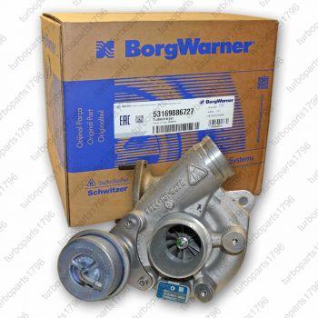 porsche turbolader 99612301474