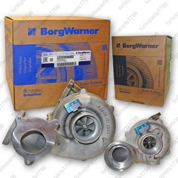 BMW 535d Twin Turbolader 2 Stufen Aufladung Bi-Turbo 535 d 3,0 Liter 200kw 272Ps 11657794572 11657794571 Neuteil