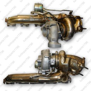 Turbolader Audi RS6 4F C6 5,0 TFSI 850PS 07L145701J 07L145702J