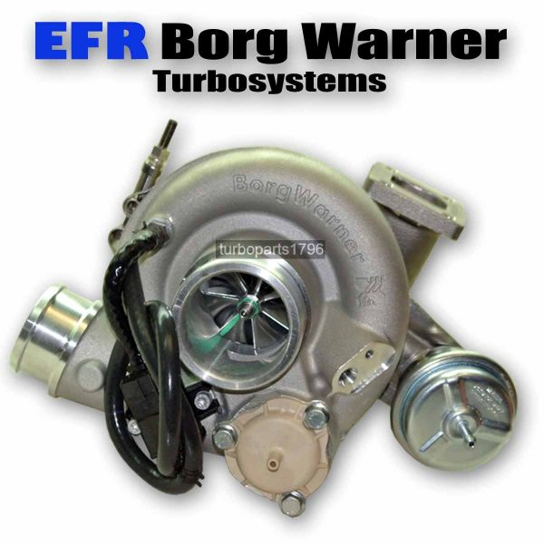 efr 7163 gti rennsport turbolader borg warner twin scroll. Black Bedroom Furniture Sets. Home Design Ideas